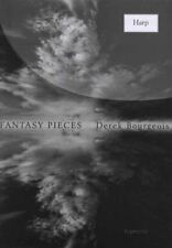 Fantasy Piece for Harp Sheet Music Book by Derek Bourgeois
