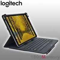 "GENUINE Logitech Universal Folio Case Bluetooth Keyboard fo 9""-10"" Apple Android"