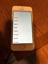 Apple iPhone SE - 16GB - Silver (Verizon) No SIM card.