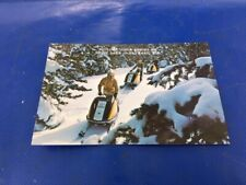 New listing Vintage 1972 Skidoo Tnt 640 292 775 Snowmobile Nos Post Card Hayward Wisconsin