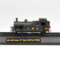 Diecast Toy Amer 1924 LMS Fowler '3F' 'Jinty' 0-6-OT No.7279 Railway Train Model