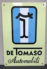 De Tomaso  Racing Vintage Reproduction Garage Sign