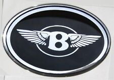 "Chrysler 300 bentley ""B"" with wings mesh grille grill emblem badge"