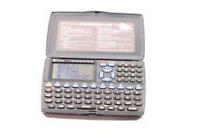 RERTO OREGON SCIENTIFIC 192kb Pocket Organizer 1998 (blacklit LCD)