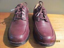 Clarks Unstructured  Leather Lace up Mens Sz 9.5 US 42.5 Eur