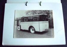 Charles Roberts photo idéal bus Corcoran Bros yorks.