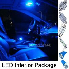 INTERIOR CEILING NUMBER PLATE LED SMD Bulbs KIT Package BLUE For Rover 75 Sedan