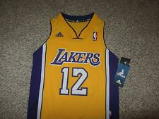 NWT Dwight Howard Los Angeles Lakers NBA Basketball Jersey Adidas Sewn Youth S