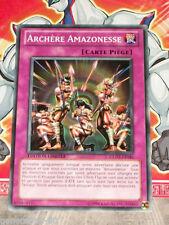 Carte YU GI OH ARCHERE AMAZONESSE GLD3-FR046 x 3