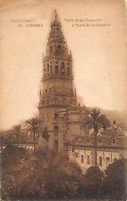B98252 cordoba patio de los naranjos y torre de la catedral spain