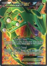 Pokemon Card Rayquaza Ex 123/124 Full Art Ultra Rare Dragons Exhalted Nice!