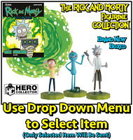 The Ultimate Rick & Morty Figurine Collection by Hero Collector - Brand New