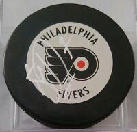 Steve Downie ? SIGNED NHL VINTAGE PHILADELPHIA FLYERS INGLASCO SLOVAKIA PUCK GEM