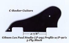 Les Paul LP-295 Profile 5-Ply Blk Pickguard W/P-90's for Gibson Epiphone Project