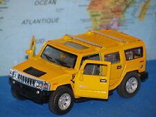 1/40 KINSMART 2008 HUMMER H2 SUV YELLOW ***BRAND NEW & RARE***