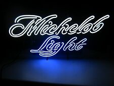 New Michelob Light Neon beer bar sign Brewing Co. Man Cave Pub golf ultra balls