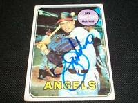 California Angels Jay Johnstone Auto Signed 1969 Topps Card #59 JSA STAMP  N