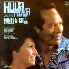NINA K. & BILL KAIWA - Hula Hula Luau Style (RARE Hawaiian CD, 1996, Lehua)