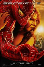 "Spiderman 2 movie poster Tobey Maguire poster 11"" x 17"" (e) Spiderman poster"