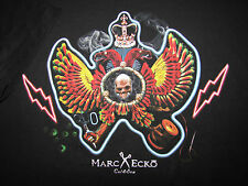 MARK ECKO T-SHIRT SIZE: XL. BLACK / Skull and Wings. Times Square NYC.