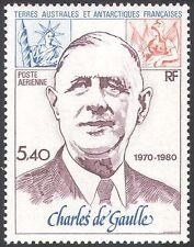 FSAT/TAAF 1980 General Charles de Gaulle/People/Military/WWII/Politics 1v n23254