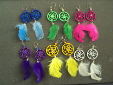 6 NEW PAIR OF EARRING DREAM CATCHER JEWERLY