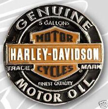 HARLEY DAVIDSON 3D DIE CAST MOTOR OIL PIN