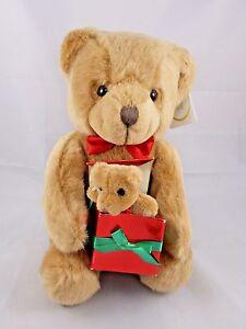 """Russ Christofur Bear Plush Caress Soft Pets Sits 11"""" Stuffed Animal toy"""