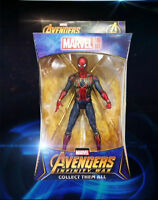 "Marvel Avengers Infinity War Iron Spider Spider-Man 7"" Action Figure Toy In Box"