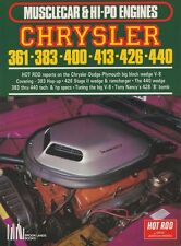 Chrysler 361 383 400 413 426 440 V8 WORKSHOP REBUILD MODIFY REPAIR MANUAL