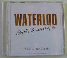 WATERLOO (CD) ABBA'S GREATEST HITS / RIEU / VON OTTER / MOUSKOURI / NEUF SCELLE