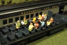 O SCALE Bachmann Waist-Up Seated Passengers Scene Scapes