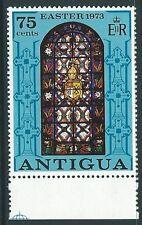 ANTIGUA SG352w 1973 75c CHRISTMAS WMK CROWN TO RIGHT MNH