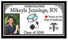 12 NURSE GRADUATION PARTY FAVORS PHOTO MAGNETS