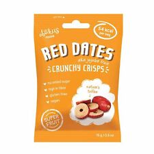 Abakus rouge date Chips (Jujube) 15 g Pack de 12