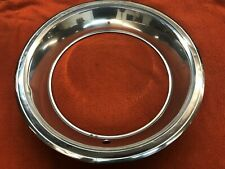 CHARGER CORONET GTX CUDA CHALLENGER OEM TRIM CHROME RING 3461043 WHEEL 15 X 6.5