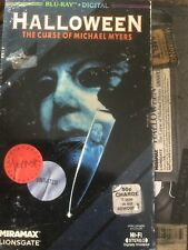 Halloween 6: Curse of Michael Myers (Blu Ray) w/ Rare VHS Slipcover NEW