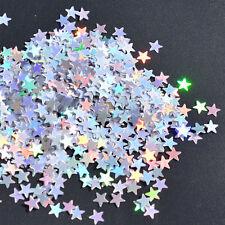 6/10mm 1000/3000Pcs Shiny Star Glitz Confetti Party Supplies Wedding Table Decor