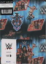 WWE Gift Wrap  WE033 NEW