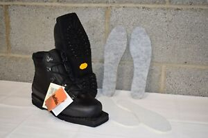 British Army - Nordic March Ski Boots - Alico Vibram Sole Telemark Asnes Skis