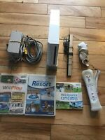 nintendo wii console sports bundle Tested