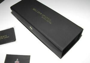 William Morris Box Hard Glasses Case + cleaning cloth - brand new