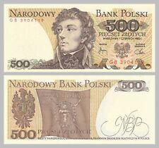 Polen / Poland 500 Zlotych 1982 p145d unz.