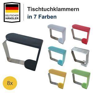Tischklemmen Tischdeckenklammer Tischtuchklammern Tischklammern Tischtuch Halter
