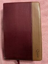 NIV QUEST STUDY BIBLE, Revised,  Leathersoft, Burgundy/Tan, 2003, Zondervan