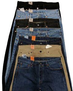 Levis 501 Original Fit Men's Jeans Levi's Straight Leg 29 30 31 32 33 34 36 38 +