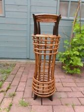 LOVELY TALL UNUSUAL VINTAGE BAMBOO FREE STANDING STICK UMBRELLA HALL STAND.