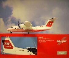 Herpa Wings 1:200  De Havilland Canada DHC-7  Trans World Express N173RA  559041