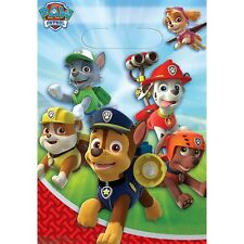 Party Supplies Birthday Boys Paw Patrol Loot Lolly Bags Pack of 8