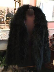 Topshop Stunning Marabou Feather Jacket